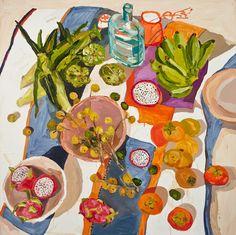 Asian Green Grocer by Laura Jones