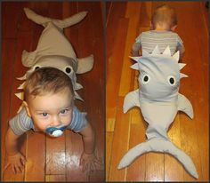 incredible homemade baby costume...totally going to be my child's 1st Halloween costume