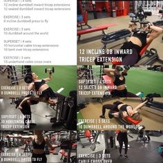 Chest and Triceps | Whitney Simmons