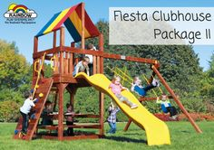 Is your child drawn to imaginative play? Then the #Clubhouse style with its fort, picnic area, #playhouse, #sandbox and general store options will be ideal.
