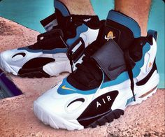 "Nike Air Max Speed Turf ""Dolphins"" Retro.... I don't usually like the straps but I'd make an exception with these.."