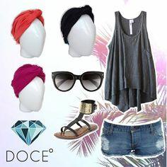 ¡Look de verano! La mejor manera de agregar estilo y color a tus outfits. #cancer #fashion #turban #turbante