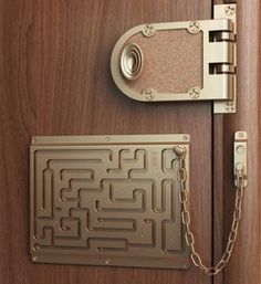 Only a clever intruder will figure out this lock #locksmith #crime