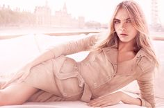 Simply gorgeous as the face of Burberry for the fragrance Body Tender campaign.
