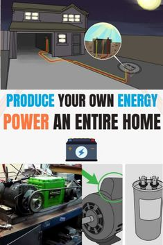 Isn't it time to do something about rising electricity bills? And have a back up plan for power outages? A geography teacher is helping thousands do just that after developing a simple DIY home-power system. His device now powers his entire home during Renewable Energy, Solar Energy, Solar Power, Wind Power, New Energy, Save Energy, Home Electrical Wiring, Off Grid House, Electricity Bill