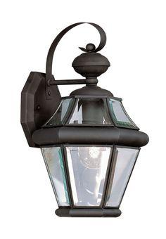 Livex Lighting Georgetown Black Outdoor Wall Lantern 2161-04