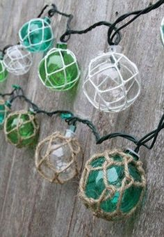 Nautical-Retro-Glass-Style-Buoy-Plastic-String-Lights-Assorted-Styles