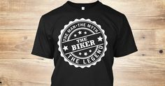 """The Biker The Man The Myth The Legend**LIMITED PRINT**WILL NOT BE RELEASED AGAIN!Quantities are limited and this shirt will be only available for a few days, so buy yours right now.Order 2 or more for all the family and SAVE on shipping!100% Designed, Shipped, and Printed in the U.S.A.HOW TO ORDER?1. Click the """"BUY IT NOW"""" OR """"RESERVE IT NOW""""2. Select your Preferred Size Quantity3. CHECKOUT!"""