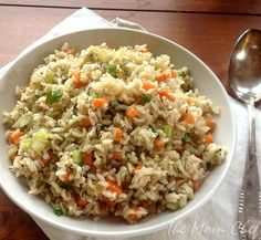 Herbed Brown Rice Pilaf from Cooking Light's Real Family Food Cookbook via Taking On Magazines