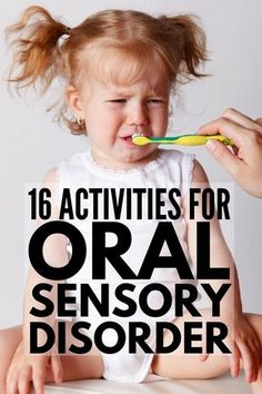 Oral Motor Activities for Kids | If your child has autism and/or sensory processing disorder & you're looking for oral sensory activities you can do at home, in the classroom & as part of speech therapy, we've got 16 fun activities for toddlers, kids in preschool & kindergarten & beyond! These activities help with a variety of challenges like picky eating and inappropriate chewing, sucking & biting. #sensoryprocessing #sensoryprocessingdisorder #autism #ASD #oralmotor #feedin