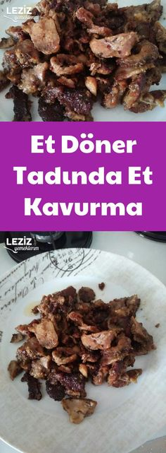 Meat Doner Tasting Meat Roasting - My Delicious Food-Et Döner Tadında Et Kavurma – Leziz Yemeklerim Meat Rotating Taste Meat Roaster - Roast Me, Colored Hair Tips, Homemade Beauty Products, Meat Recipes, Stew, Yummy Food, Baking, Cook, Rage