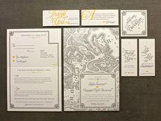 Cute wedding invitations.