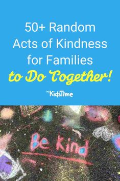 50+ Random Acts of Kindness for Families to Do Together Your Smile, Make You Smile, Charity Run, Feeling Under The Weather, Friendly Letter, Say Something Nice, Free Things To Do, Random Acts, Drawing For Kids