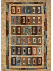 City Blocks Quilt Pattern...would be great in a Bali pop and suede background.