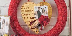 Valentine's Day Wreath DIY Idea
