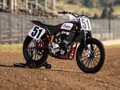 Indian Scout FTR750 FlatTrack #motorcycles #flattracker #motos | caferacerpasion.com
