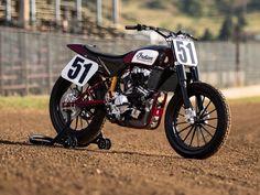 Indian Scout FTR750 FlatTrack #motorcycles #flattracker #motos | caferacerpasion.com
