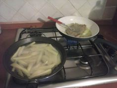 Patate fritte Manzo in padella