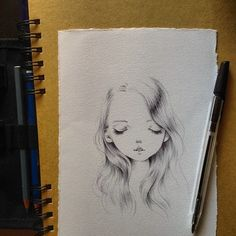 "979 Me gusta, 14 comentarios - Ania Tomicka (@ponyania) en Instagram: ""Tiny black pen sketch in progress"""