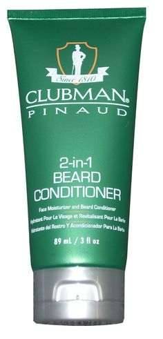 Clubman Pinaud 2-In-1 Beard Conditioner And Facial Moisturizer