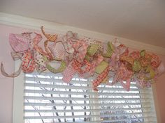 Isn't She Crafty: Curly Cue Valance