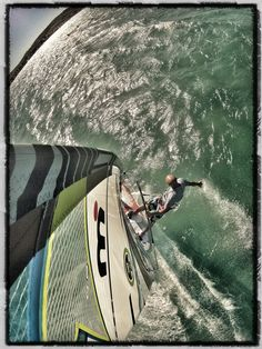 Touch it!.. #GoPro, #windsurf, #ClubMistral #Alacati, Edited with #Snapseed