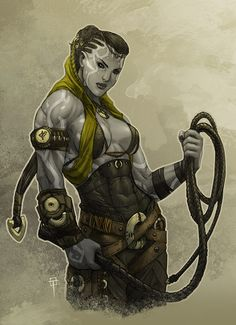 Fantasy Warrior, Fantasy Rpg, Fantasy Artwork, Dark Fantasy, Dungeons And Dragons Characters, D D Characters, Fantasy Characters, Female Character Design, Character Concept