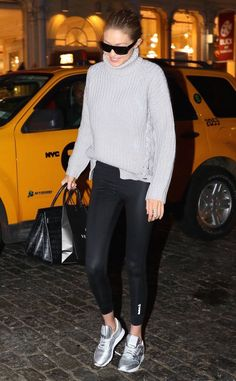 Gigi Hadid from The Big Picture: Today's Hot Photos  New York moment! The model is seen around town in the big city.