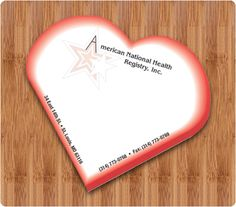 x Custom Heart Shape Sticky Notes 25 Sheets - Custom Shape Sticky Pads - Custom Shaped Pads Custom Sticky Notes, Sticky Pads, Heart Shapes, Gifts, Presents, Favors, Gift