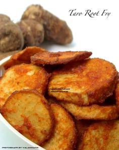 Taro Root Fry
