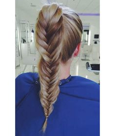 Fishtail Ponytail | Stay cool and maintain that chic style with these fresh takes on the classic 'do.