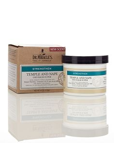 Dr. Miracle's Temple and Nape Growth balm