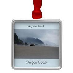 #Hug Point Beach Oregon Coast Ornament - #beach #travel #beachlife