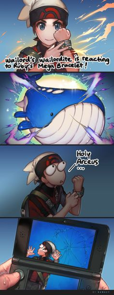 Mega Wailord confirmed by kawacy.deviantart.com on @DeviantArt
