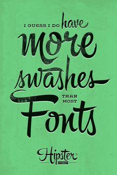 Hipster Script Pro - Handwritten Font Design