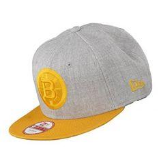 New Era 9FIFTY Snapback Kappe Grey Yellow BOSBRU S M Lapos Peremű 22a24a6b55