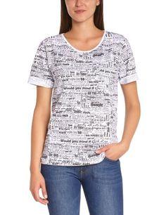 Original camiseta de manga y estampado de palabras April May #camiseta #realidadaumentada #ideas #regalo