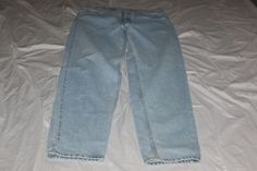 Levis 522 loose fit super low  3 jr. m blue jean  made in usa #Levis #loose