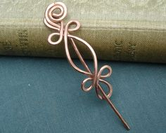 Little Celtic Double Crossed Loops Copper by nicholasandfelice, $18.00