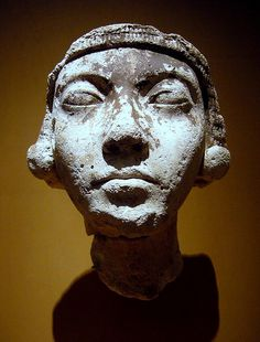 Reign of Akhenaten (ca. 1353-1336 B.C.) Thutmose workshop at Amarna Gypsum plaster Metropolitan Museum of Art