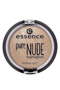 Not into strobing? This baked highlighter from Essence gives a beautiful lit-from-within glow that never looks too sparkly.  Essence Pure Nude Highlighter, $4.49