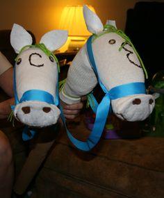 DIY Sock Horse. DIY Stick Horse