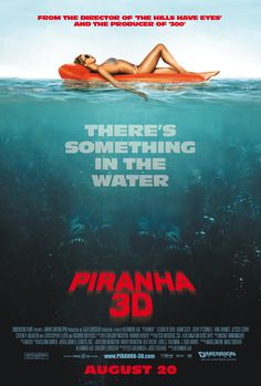 Piranha 3D is a 2010 American 3D comedy horror film that serves as a loose remake of the comedy horror film Piranha (1978) and an entry in the Piranha film series. During Spring break on Lake Victoria, a popular waterside resort, an underground tremor releases hundreds of prehistoric, carnivorous Piranha into the lake.