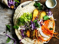 Twist up dinner ideas with these deliciously healthy crumbed zucchini and slaw wraps. Completely meat free, and full of mouthwatering flavour- you simply can't go wrong!