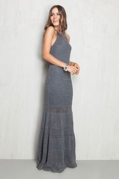 vestido rendado cava americana | Dress to