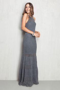 vestido rendado cava americana   Dress to