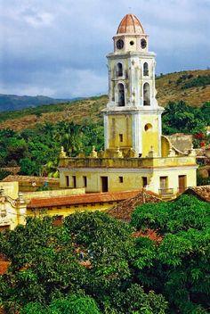 The Convento San Francisco de Asis in Trinidad, Cuba
