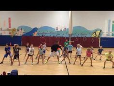 Choreographed by three of our AWESOME dancing 5th graders (purple, red and orange shirts)!!!
