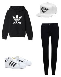 """Simply & sporty"" by no-signal on Polyvore featuring adidas"