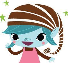 girl scout brownie elf clip art google search girl scout clip rh pinterest com girl scout brownie clip art free